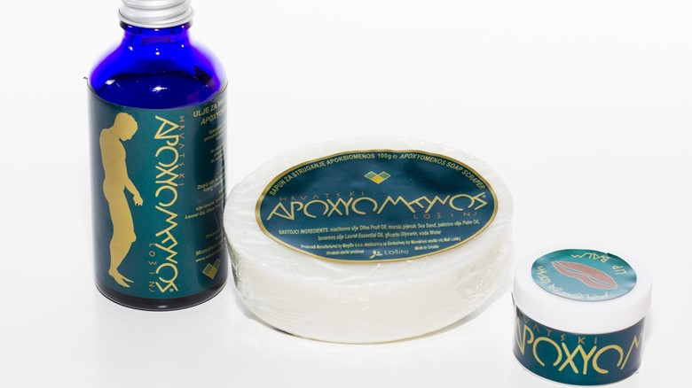 Apoxyomenos skin care products