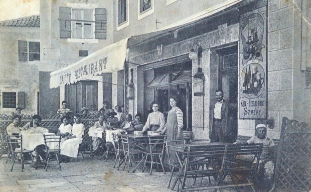 Hotel-Restaurant Szalay, Early 20th Century