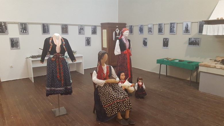 Exhibition of the folk costume