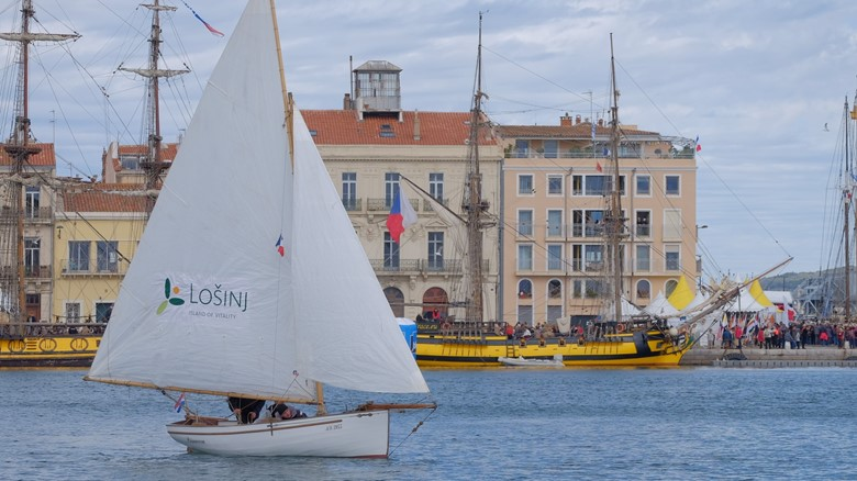 Lošinj at 'ESCALE A SETE', the largest Mediterranean maritime festival