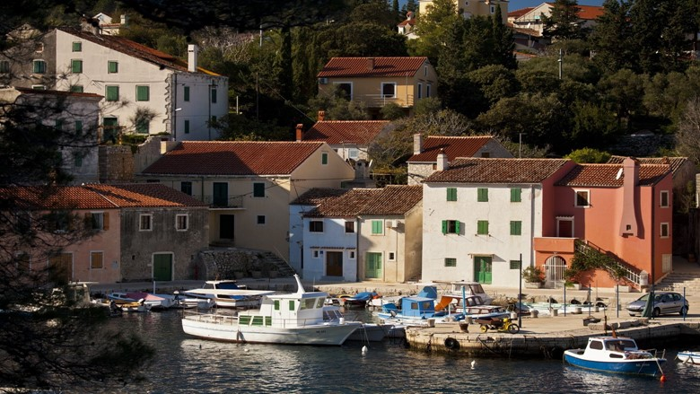 Port Rovenska - fishing port