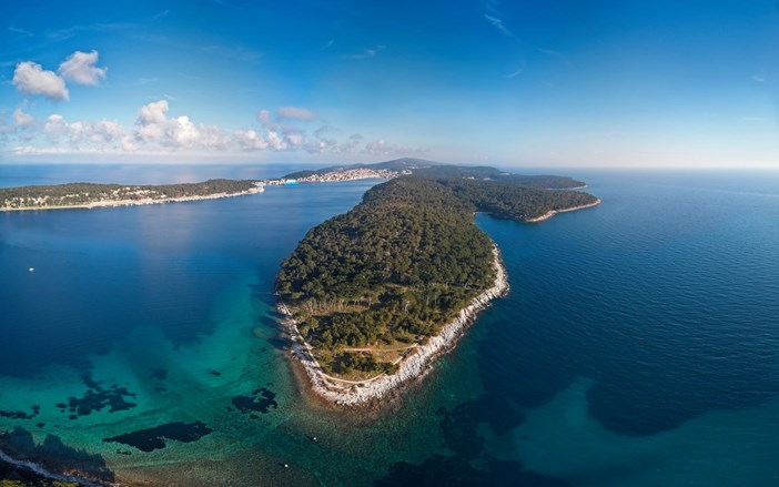 The paths of Lošinj's captains - Bocca falsa - panorama