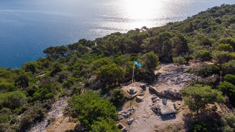 The paths of Lošinj's captains - Monte Baston